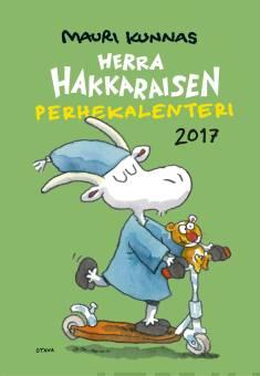 Herra Hakkaraisen Perhekalenteri 2017 (seinäkalenteri)
