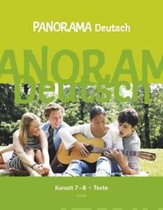Panorama Deutsch kurssit 7-8 Texte