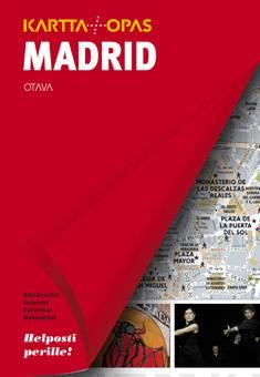 Madridkartta + opas