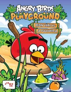 Angry Birds PlaygroundRedin väritys- ja puuhakirja