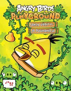 Angry Birds PlaygroundSaken väritys- ja puuhakirja