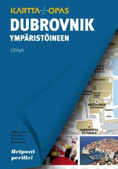 Dubrovnik ympäristöineenkartta + opas