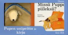 Pupen unipeitto+kirjaMissä Puppe piileksii?