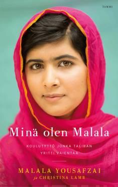 Teoksen Minä olen Malala kansikuva