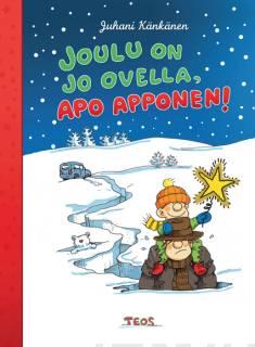Kansikuva joulu on on jo ovella, Apo Apponen.