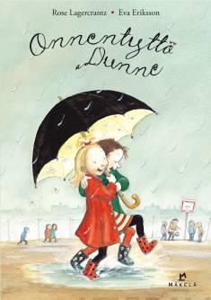 Onnentyttö Dunne - kirjan kansikuva