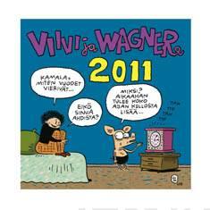 Viivi ja Wagner 2011 seinäkalenteri