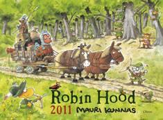 Robin Hood 2011 seinäkalenteri