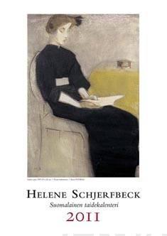 Helene Schjerfbeck 2011 seinäkalenteri