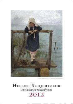 Helene Schjerfbeck 2012 seinäkalenterisuomalainen taidekalenteri