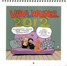 Viivi ja Wagner 2012 seinäkalenteri