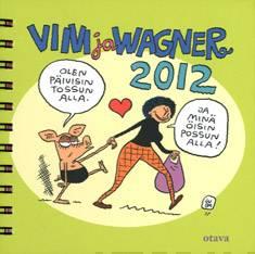 Viivi ja Wagner 2012 pöytäkalenteri