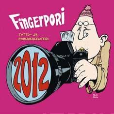 Fingerpori 2012 seinäkalenterityttö- ja poikakalenteri