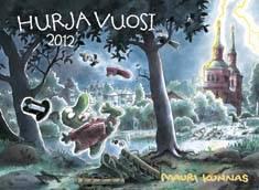 Hurja vuosi 2012 seinäkalenteri