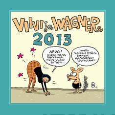 Viivi ja Wagner 2013 seinäkalenteri