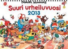 Suuri urheiluvuosi 2013 seinäkalenteri
