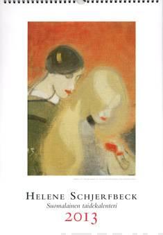 Helene Schjerfbeck 2013 seinäkalenterisuomalainen taidekalenteri