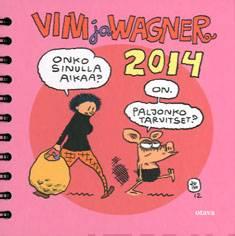 Viivi ja Wagner 2014 pöytäkalenteri