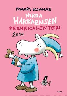 Herra Hakkaraisen perhekalenteri 2014