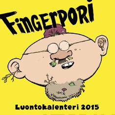 Fingerpori 2015 seinäkalenteri