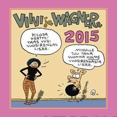 Viivi ja Wagner 2015 seinäkalenteri