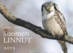 Suomen linnut 2015 seinäkalenteri
