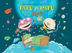 Tatu ja Patu 2016 seinäkalenteri