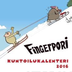 Fingerpori 2016 (seinäkalenteri)Kuntoilukalenteri