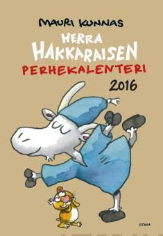 Herra Hakkaraisen Perhekalenteri 2016 (seinäkalenteri)