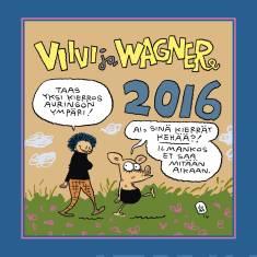 Viivi ja Wagner 2016 seinäkalenteri