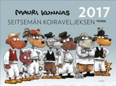 Seitsemän koiraveljeksen vuosi 2017 (seinäkalenteri)