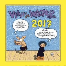 Viivi ja Wagner 2017 (seinäkalenteri)
