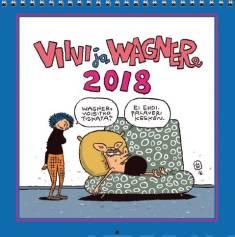 Viivi ja Wagner 2018 (seinäkalenteri)