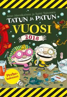 Tatun ja Patun vuosi 2018 (seinäkalenteri)