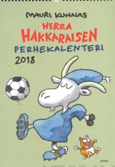 Herra Hakkaraisen Perhekalenteri 2018 (seinäkalenteri)