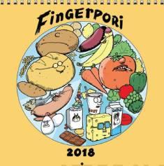 Fingerpori 2018 (seinäkalenteri)