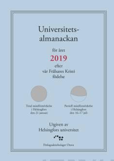 Universitetsalmanackan 2019