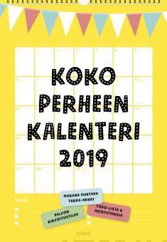 Koko perheen kalenteri 2019