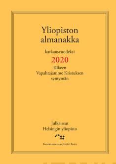Yliopiston almanakka 2020 (pieni)