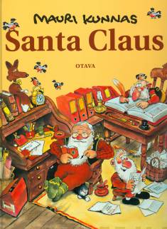 Santa Claus (Joulupukki, engl.kielinen)a book about santa and his elves at Mount Korvatunturi, Finland