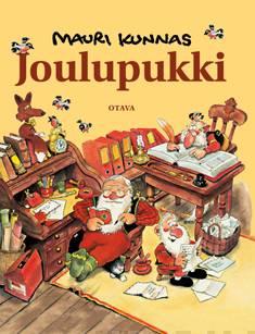 Joulupukkikirja joulupukin ja tonttujen puuhista Korvatunturilla