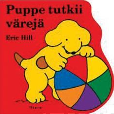Puppe tutkii värejä