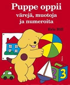 Puppe oppii värejä, muotoja ja numeroita