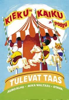 Kieku ja Kaiku ja Possu tulevat taasvalikoima parhaita sarjoja Kieku ja Kaiku -albumeista vuosilta 1945-1962