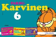 Paksu-Karvinen 6Karvinen pyöristyy silmissä : Karvinen panee läskiksi : Karvinen uuma esiin