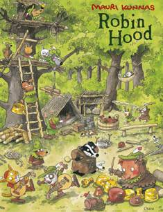 Robin Hood (kirja+cd)