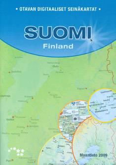 Otavan digitaaliset seinäkartat Suomiyhden käyttäjän lisenssi 2009