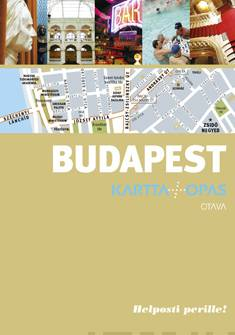 Budapestkartta + opas