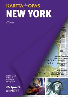 New Yorkkartta + opas