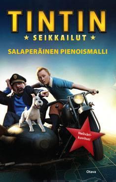 Tintin seikkailutsalaperäinen pienoismalli
